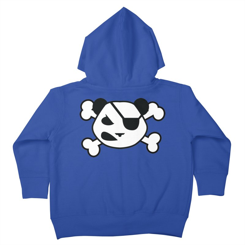 The Fearless Panda Kids Toddler Zip-Up Hoody by TenAnchors's Artist Shop