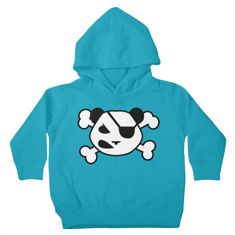 The Fearless Panda Kids Toddler Pullover Hoody by TenAnchors's Artist Shop