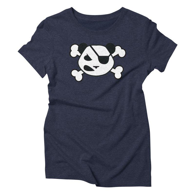 The Fearless Panda Women's Triblend T-Shirt by TenAnchors's Artist Shop
