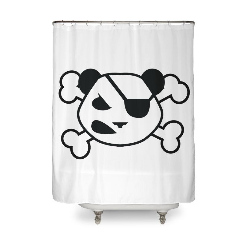The Fearless Panda Home Shower Curtain by TenAnchors's Artist Shop