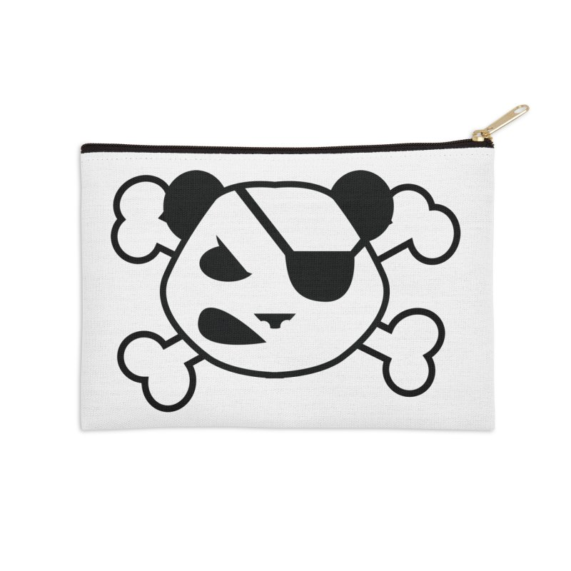 The Fearless Panda Accessories Zip Pouch by TenAnchors's Artist Shop