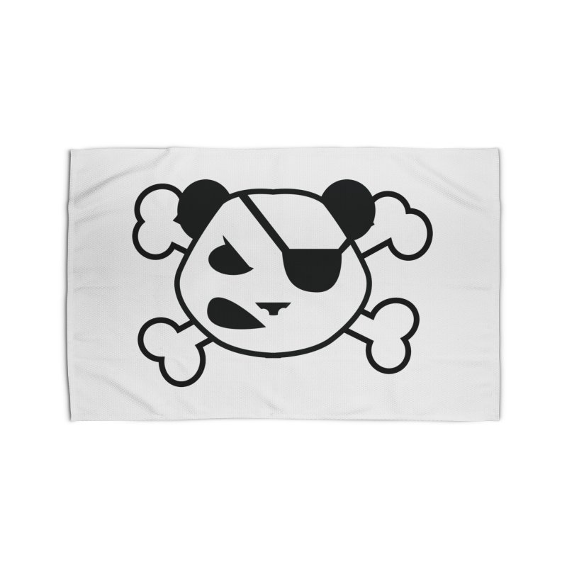 The Fearless Panda Home Rug by TenAnchors's Artist Shop