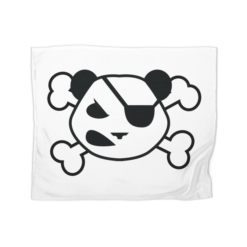 The Fearless Panda Home Blanket by TenAnchors's Artist Shop