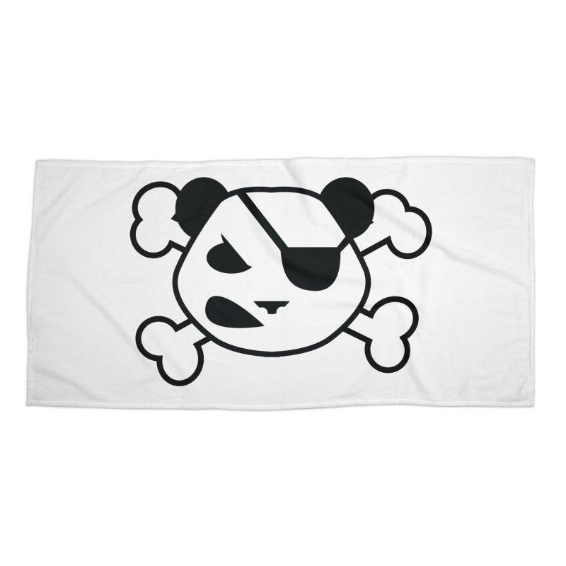 The Fearless Panda Accessories Beach Towel by TenAnchors's Artist Shop