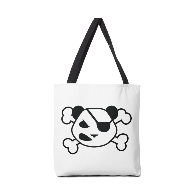 The Fearless Panda Accessories Bag by TenAnchors's Artist Shop