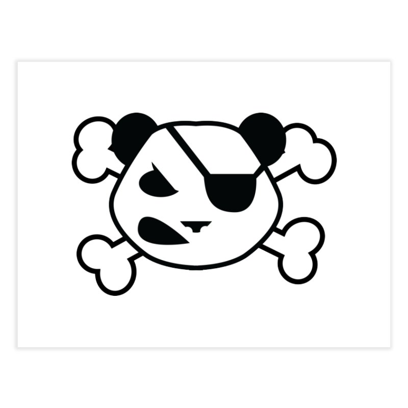The Fearless Panda Home Fine Art Print by TenAnchors's Artist Shop