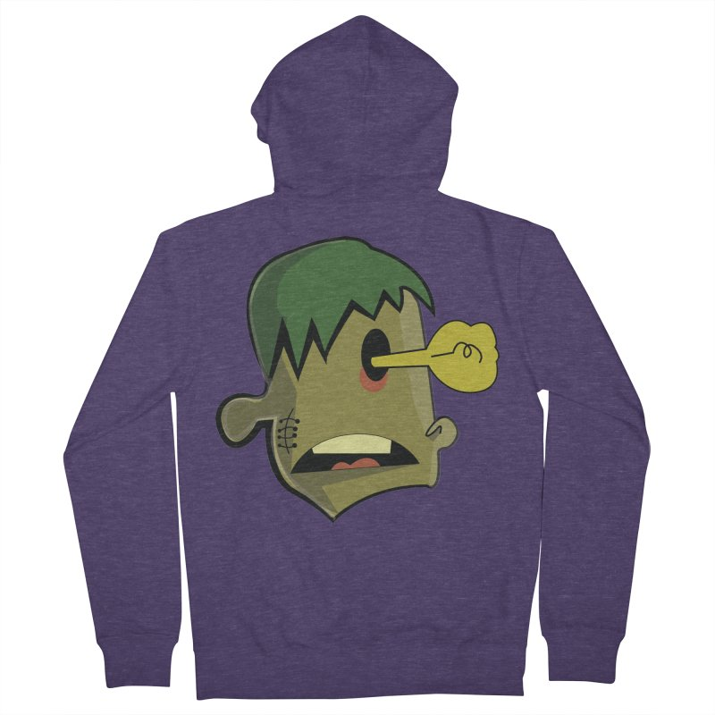 Zombie Idea Men's Zip-Up Hoody by TenAnchors's Artist Shop