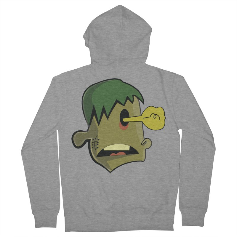 Zombie Idea Men's Zip-Up Hoody by TenAnchors's Artist Shop