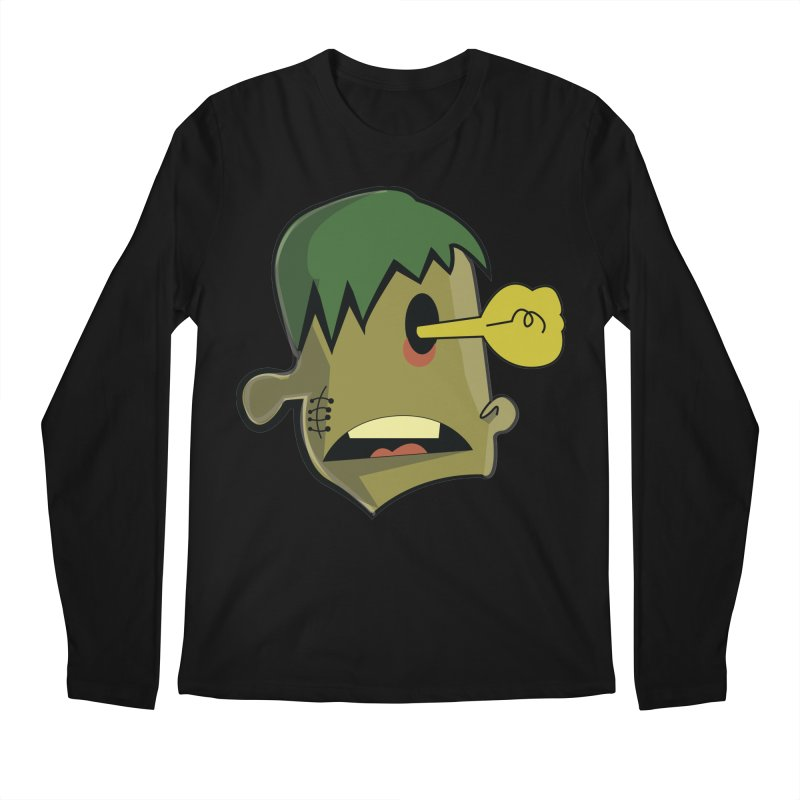 Zombie Idea Men's Longsleeve T-Shirt by TenAnchors's Artist Shop
