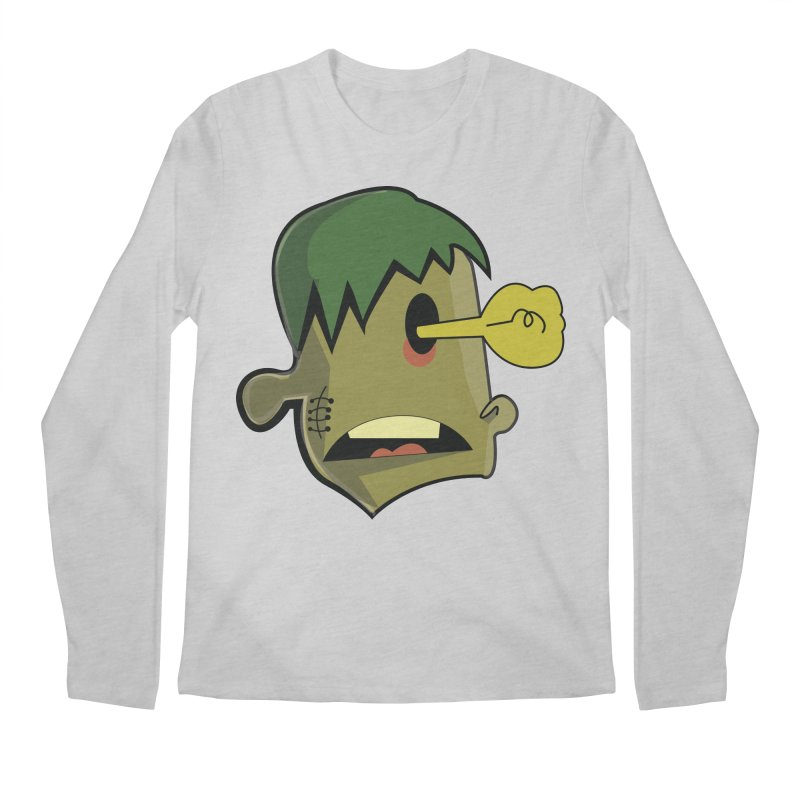 Zombie Idea Men's Longsleeve T-Shirt by TenAnchors's Artist Shop