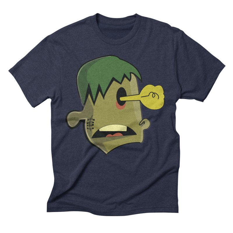 Zombie Idea Men's Triblend T-Shirt by TenAnchors's Artist Shop
