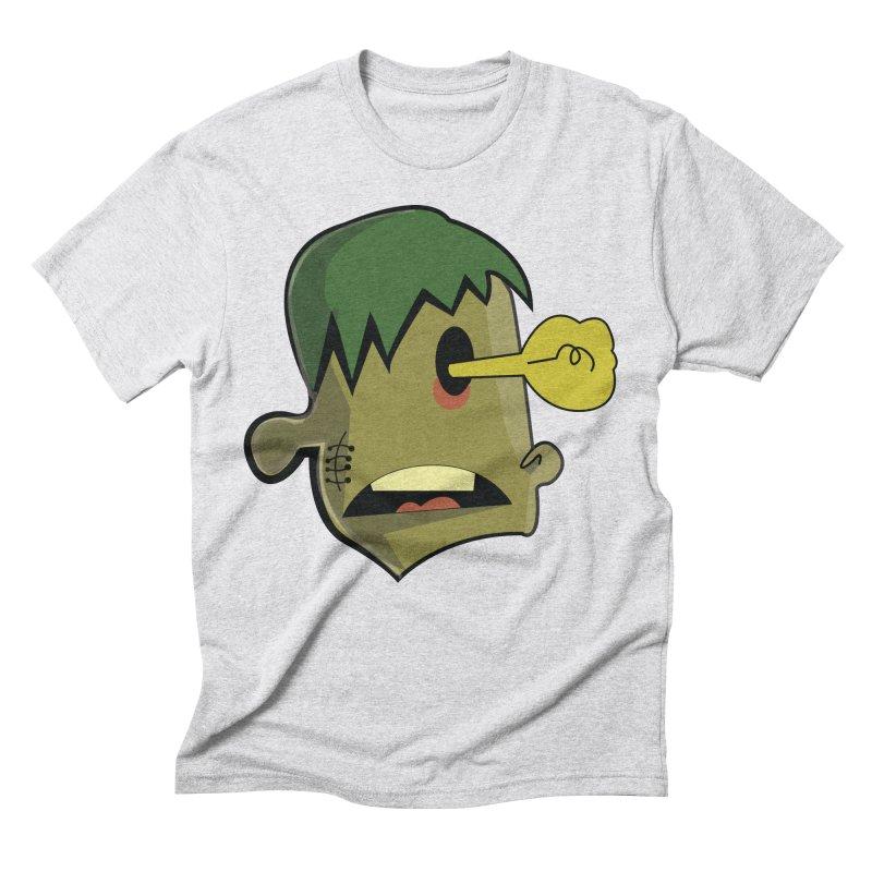 Zombie Idea Men's Triblend T-Shirt by TenAnchors's Artist Shop