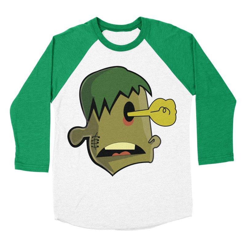Zombie Idea Women's Baseball Triblend T-Shirt by TenAnchors's Artist Shop