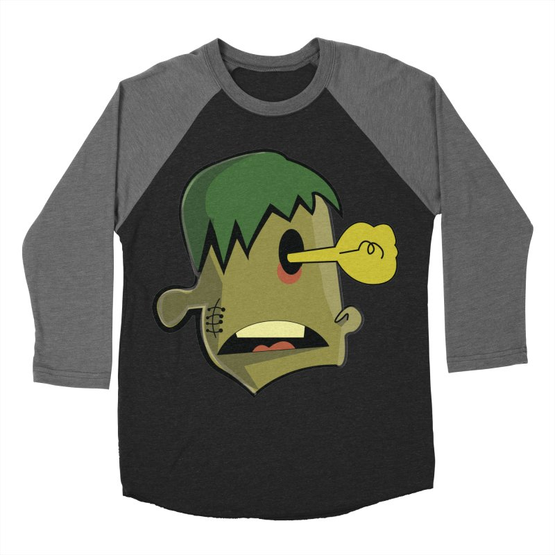 Zombie Idea Men's Baseball Triblend T-Shirt by TenAnchors's Artist Shop
