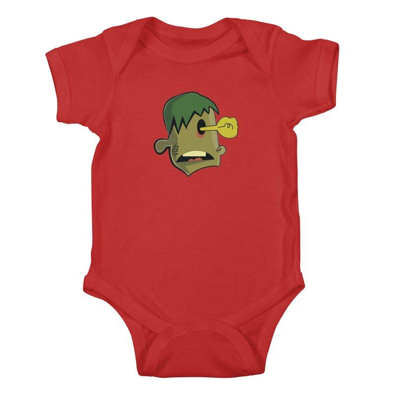 Zombie Idea Kids Baby Bodysuit by TenAnchors's Artist Shop