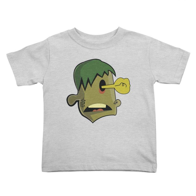 Zombie Idea Kids Toddler T-Shirt by TenAnchors's Artist Shop