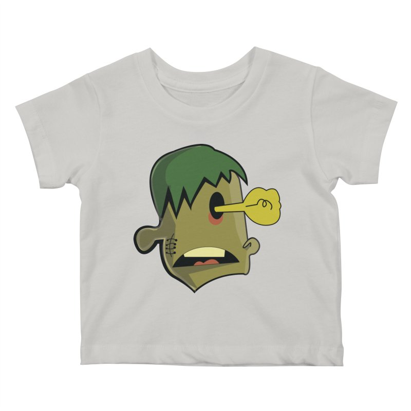 Zombie Idea Kids Baby T-Shirt by TenAnchors's Artist Shop