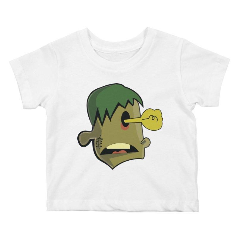 Zombie Idea Kids Baby T-Shirt by TenAnchors's Artist Shop