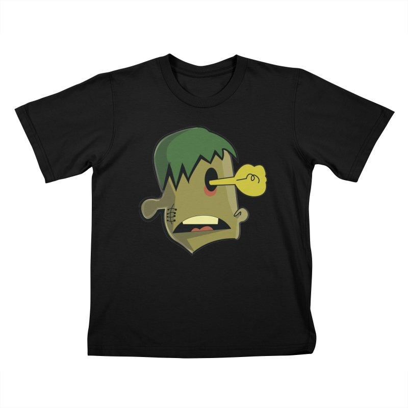 Zombie Idea Kids T-shirt by TenAnchors's Artist Shop