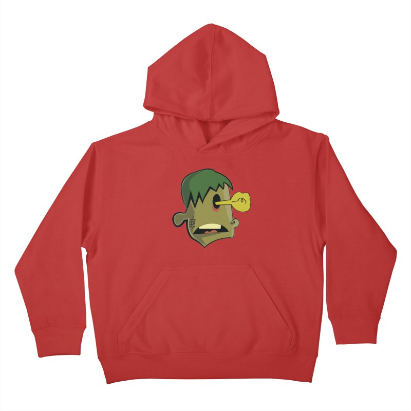 Zombie Idea Kids Pullover Hoody by TenAnchors's Artist Shop