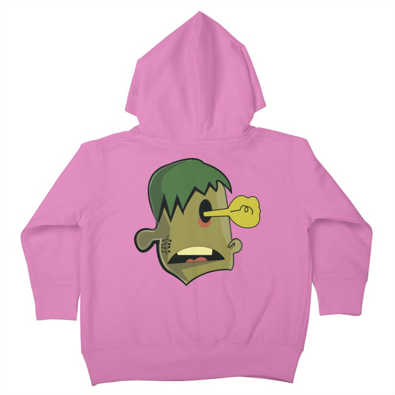Zombie Idea Kids Toddler Zip-Up Hoody by TenAnchors's Artist Shop