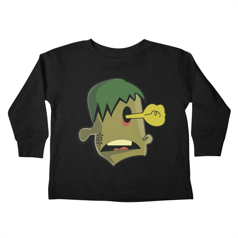 Zombie Idea Kids Toddler Longsleeve T-Shirt by TenAnchors's Artist Shop