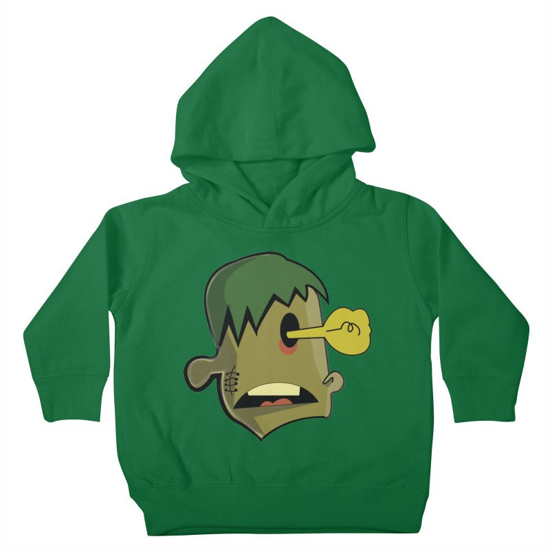 Zombie Idea Kids Toddler Pullover Hoody by TenAnchors's Artist Shop