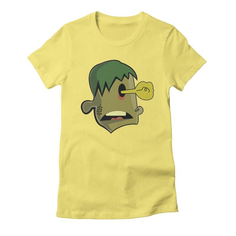 Zombie Idea Women's Fitted T-Shirt by TenAnchors's Artist Shop