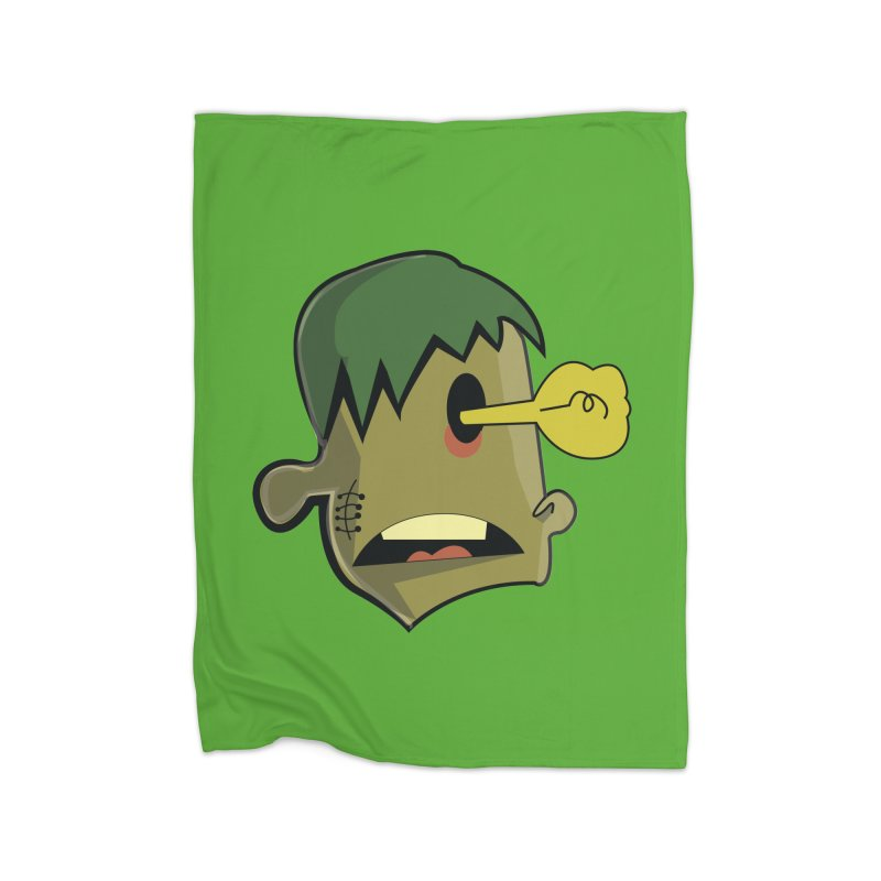 Zombie Idea Home Blanket by TenAnchors's Artist Shop