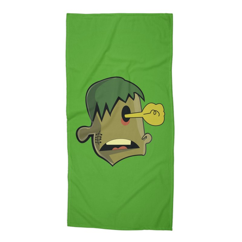 Zombie Idea Accessories Beach Towel by TenAnchors's Artist Shop