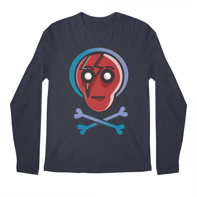 Bots 'n' Bones Men's Longsleeve T-Shirt by TenAnchors's Artist Shop