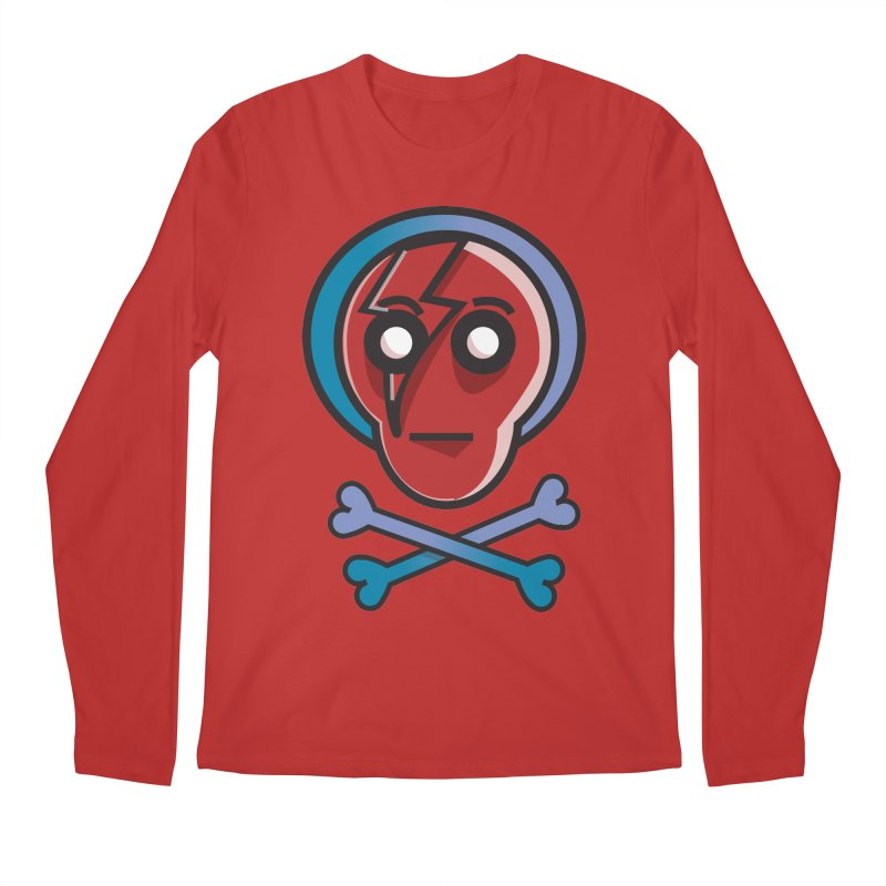 Bots 'n' Bones Men's Longsleeve T-Shirt by TenAnchors's Artist Shop