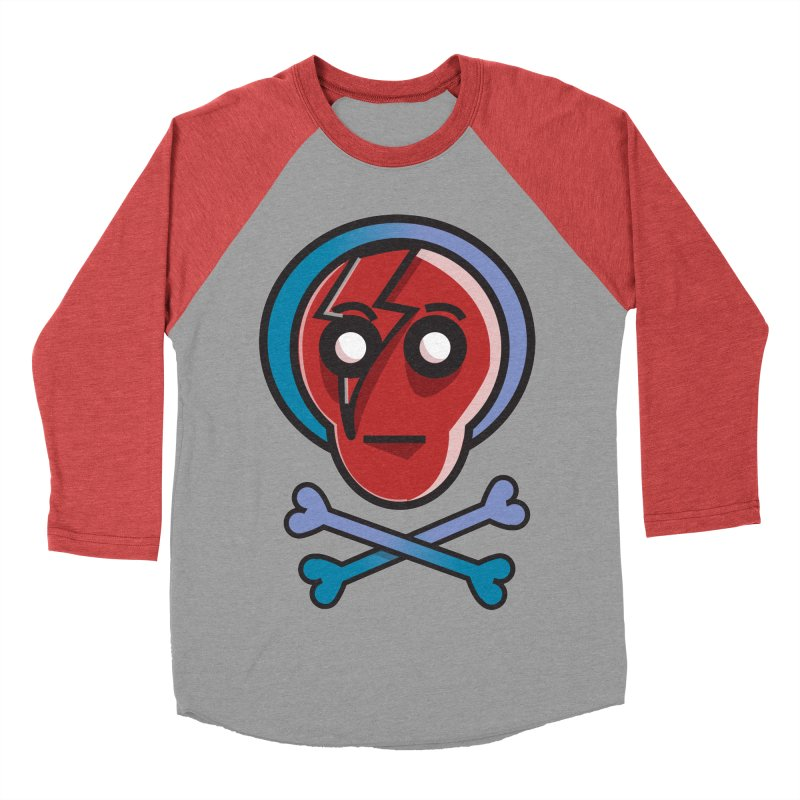 Bots 'n' Bones Women's Baseball Triblend T-Shirt by TenAnchors's Artist Shop