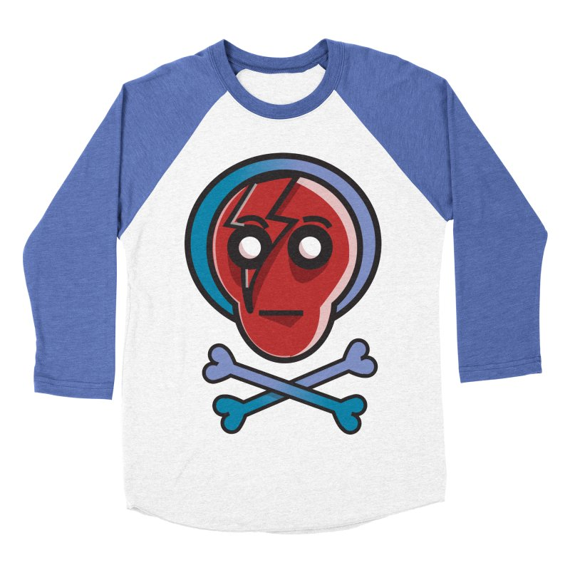 Bots 'n' Bones Men's Baseball Triblend T-Shirt by TenAnchors's Artist Shop