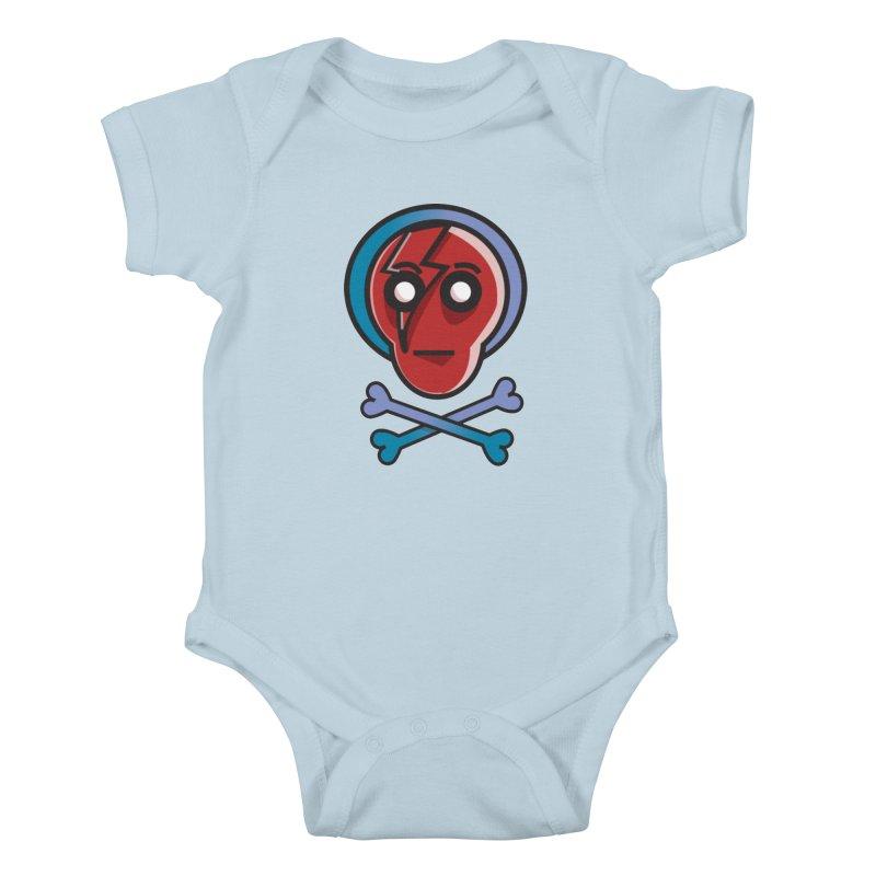 Bots 'n' Bones Kids Baby Bodysuit by TenAnchors's Artist Shop