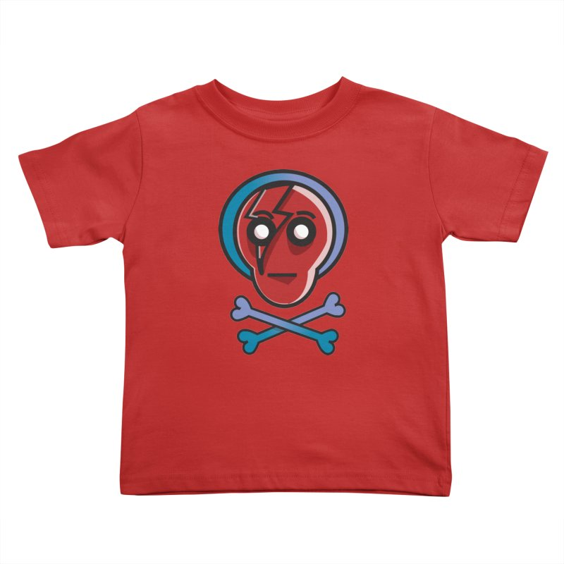 Bots 'n' Bones Kids Toddler T-Shirt by TenAnchors's Artist Shop