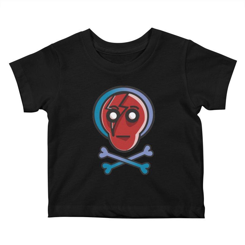 Bots 'n' Bones Kids Baby T-Shirt by TenAnchors's Artist Shop