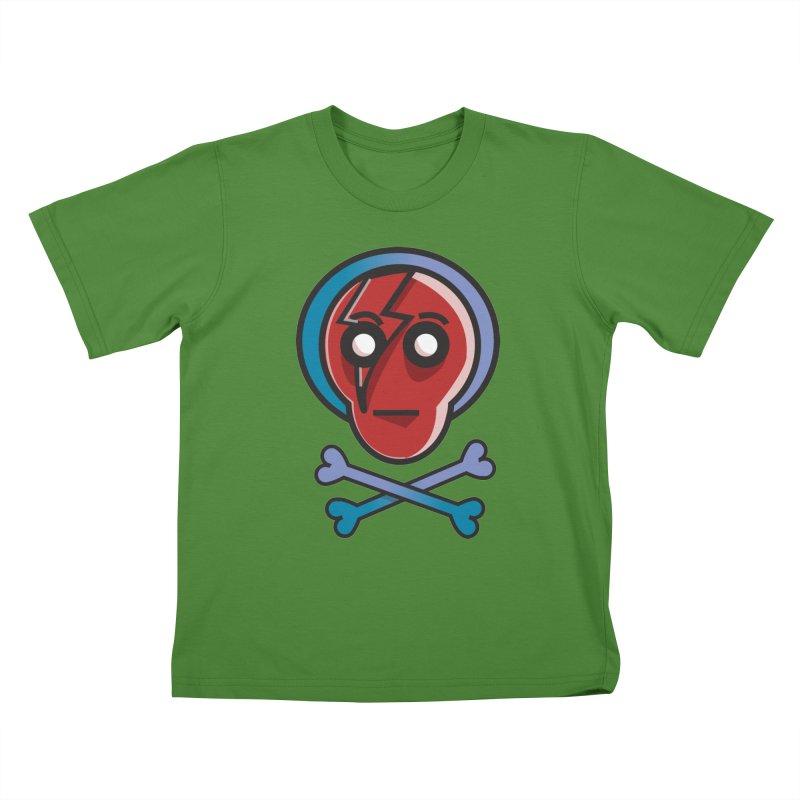 Bots 'n' Bones Kids T-shirt by TenAnchors's Artist Shop