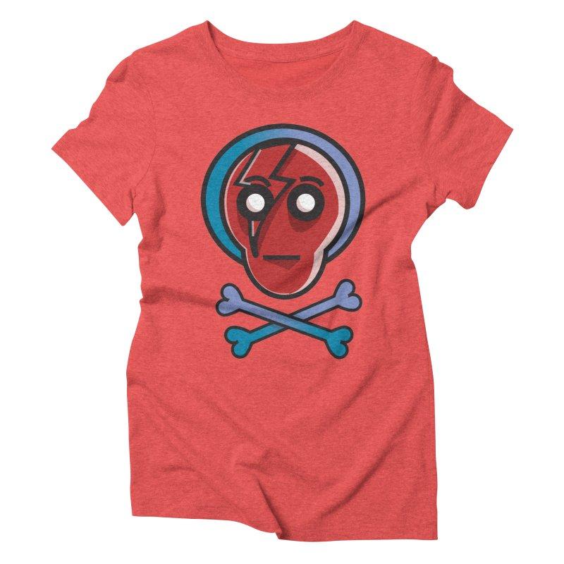 Bots 'n' Bones Women's Triblend T-shirt by TenAnchors's Artist Shop