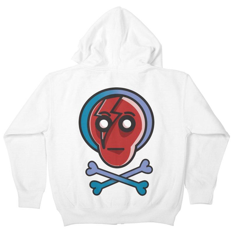 Bots 'n' Bones Kids Zip-Up Hoody by TenAnchors's Artist Shop