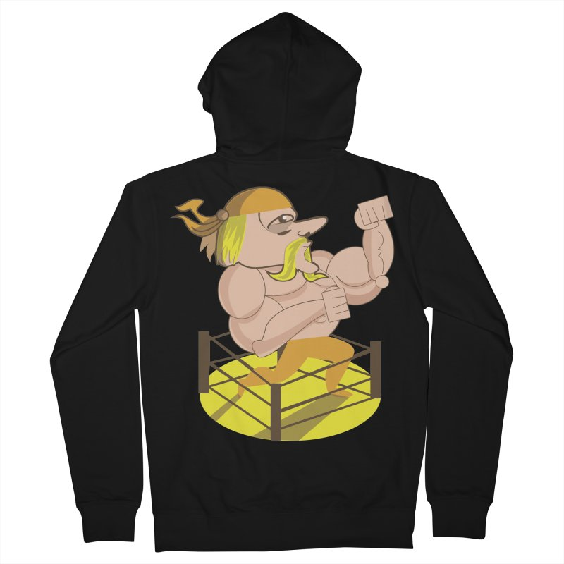 Large and in Charge Men's Zip-Up Hoody by TenAnchors's Artist Shop