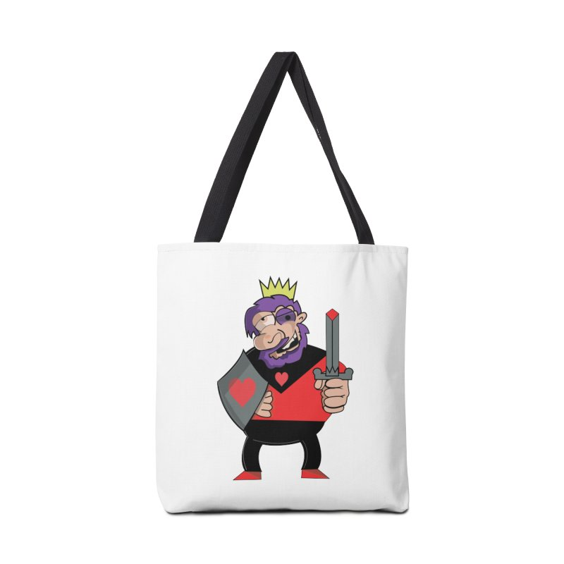 King of Heart Accessories Bag by TenAnchors's Artist Shop