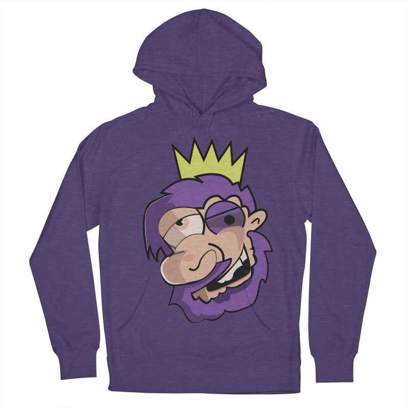 The King  Men's Pullover Hoody by TenAnchors's Artist Shop