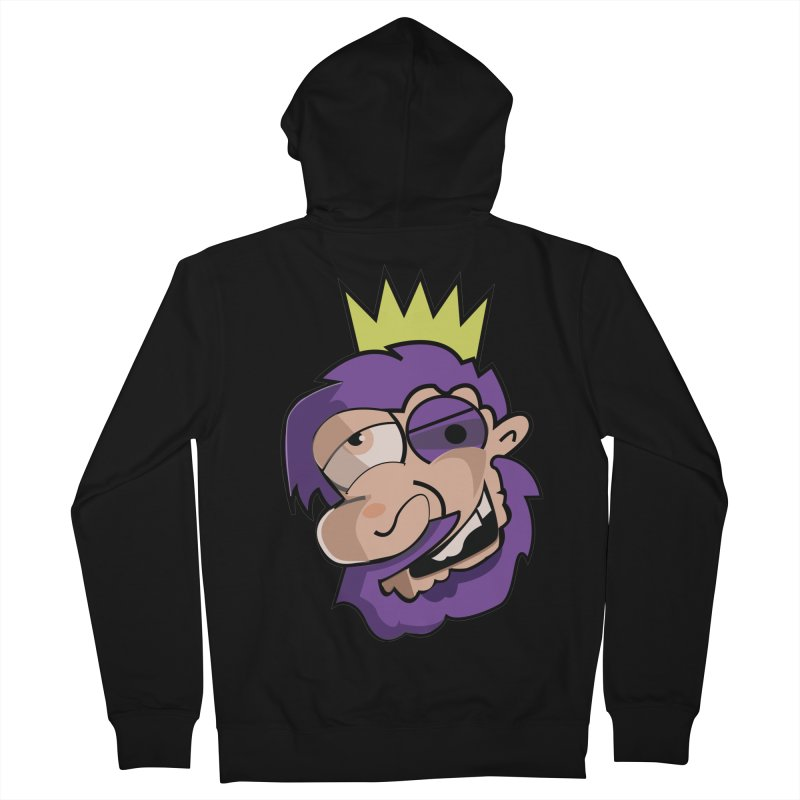 The King  Men's Zip-Up Hoody by TenAnchors's Artist Shop