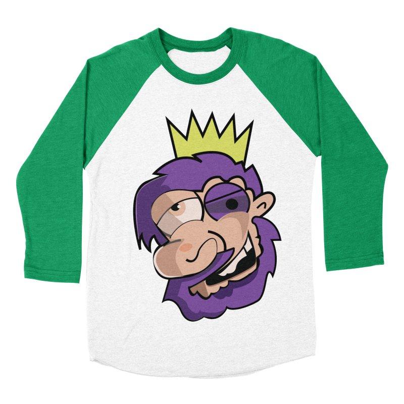 The King  Men's Baseball Triblend T-Shirt by TenAnchors's Artist Shop