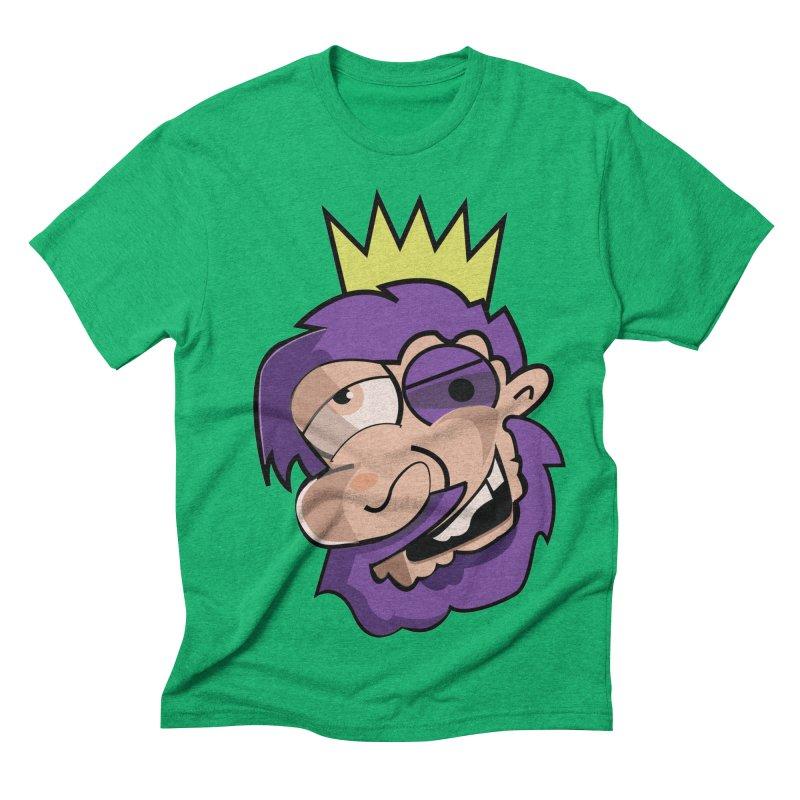The King  Men's Triblend T-shirt by TenAnchors's Artist Shop