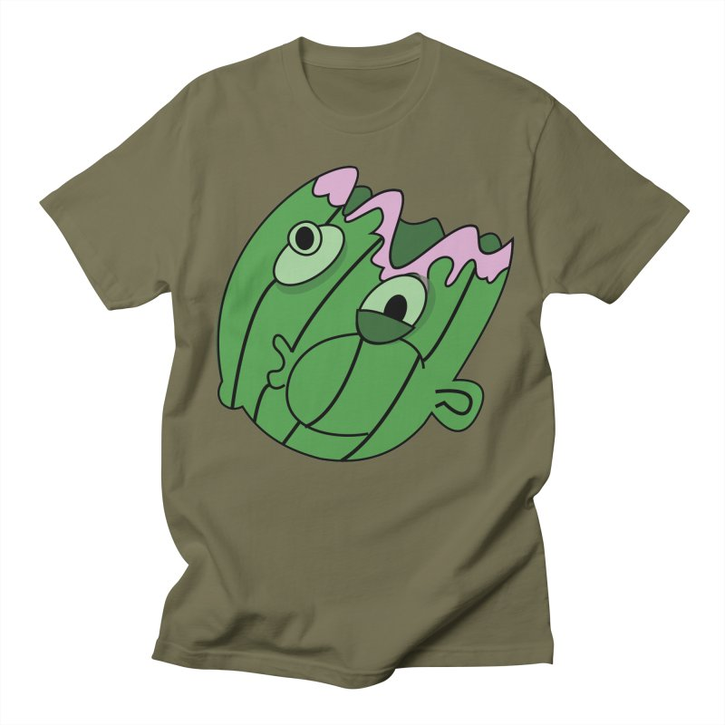melonhead Men's T-Shirt by TenAnchors's Artist Shop