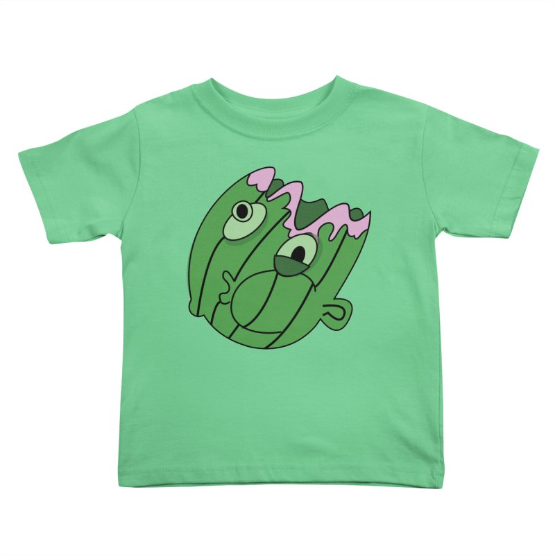 melonhead Kids Toddler T-Shirt by TenAnchors's Artist Shop