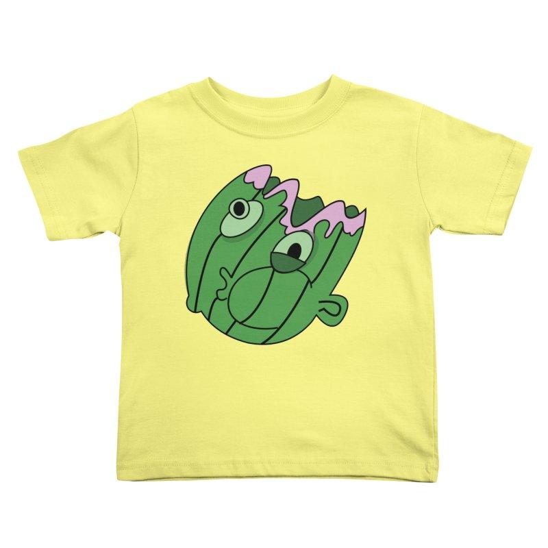 melonhead Kids Toddler T-Shirt by TenAnchors's Artist Shop