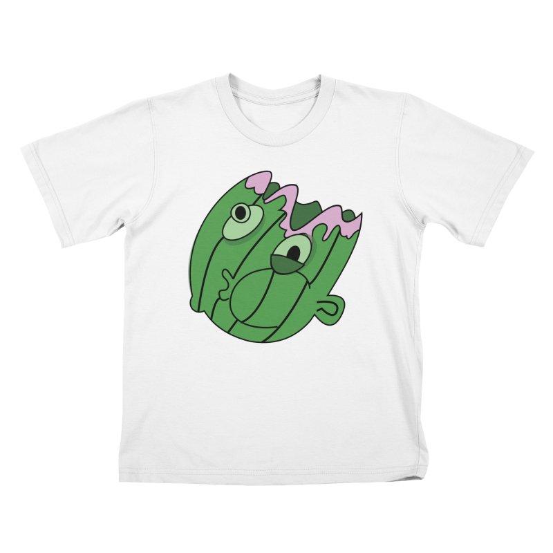 melonhead Kids T-shirt by TenAnchors's Artist Shop